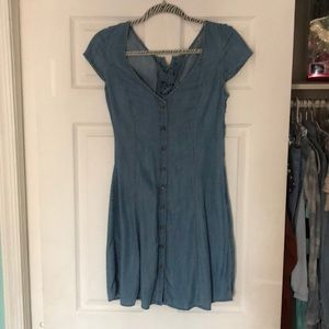 Denim dress from American Eagle